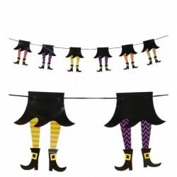 Girlanda halloweenowa z nóg...