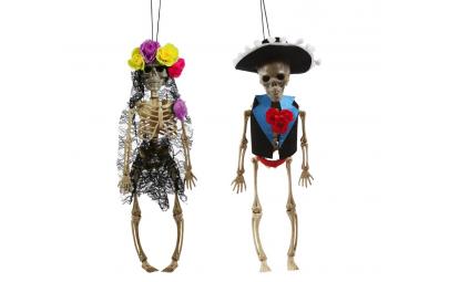 Szkielet kościotrup halloweenowy Meksykanin 40cm