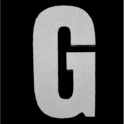 Litera styropianowa G 20cm