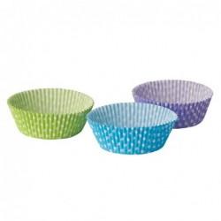Papilotki do muffinek w kropki 5x2,5cm 60 szt. art.82110