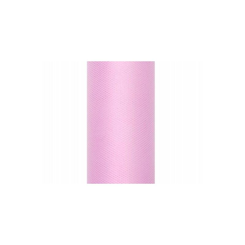 Tiul na rolce jasny róż 0,5 x 9m