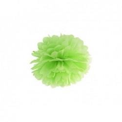 Pompon bibułowy zielone jabłko 25cm