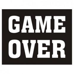 Naklejki na buty Game Over...