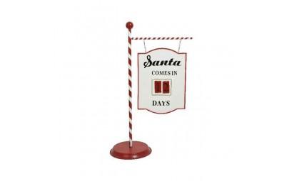Szyld Santa comesin......