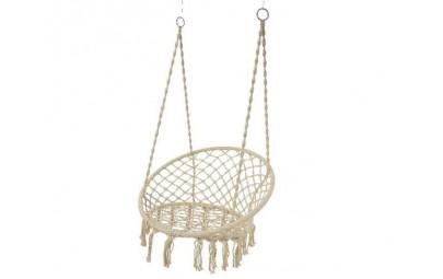 Fotel huśtawka z liny