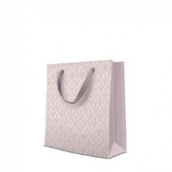 Torba ozdobna Pastel Ornament różowa 20x25x10cm