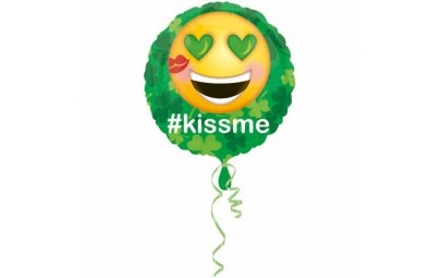 Balon foliowy 17 Emotikon #kissme