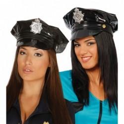 Czapka policjanta winylowa...
