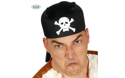 Czapka pirata czarna z...
