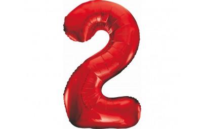 """Balon foliowy 36""""cyfra 2..."""