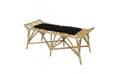 Ławka bambusowa z poduszką...