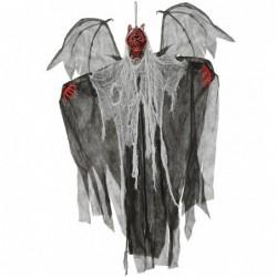 Skrzydlaty wiszący demon ze...