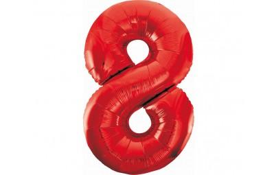 """Balon foliowy 36""""cyfra 8..."""