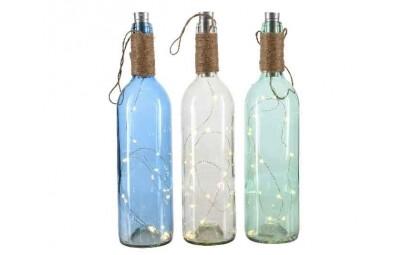 Butelka szklana kolorowa...