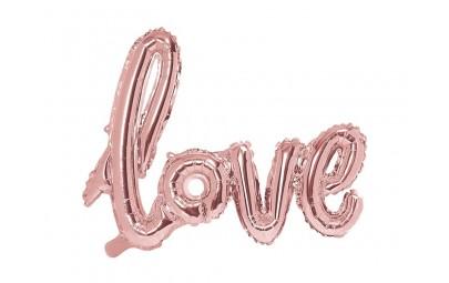 Balon foliowy Love rózowe...