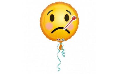 Balon foliowy 17 Emotikon chory