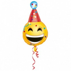 Balon foliowy 25 Emotikon party