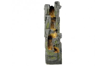 Fontanna wodospad kamienny pionowy