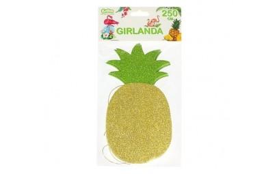Girlanda brokatowa Ananas -...