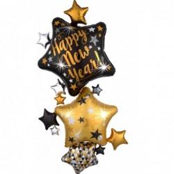 Multi-Balon foliowy gwiazdy...