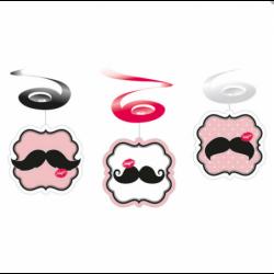 Dekoracja spirale Moustache...