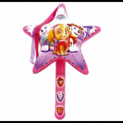 Dmuchaniec gwiazda z trzonkiem Psi Patrol Stella