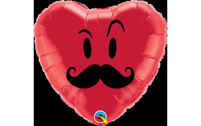 Balon foliowy 18 serce...