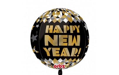 Balon foliowy 16 Happy New...