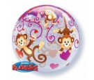 Balon 22 Love Monkeys boubble