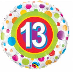 Balon foliowy 18 urodziny...
