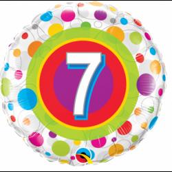Balon foliowy 18 urodziny 7...