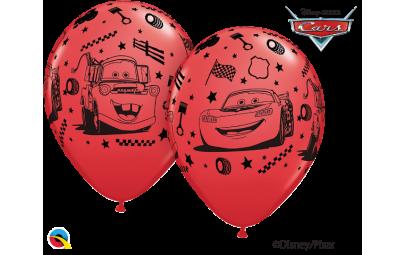 Balon 12 samochody czerwone...