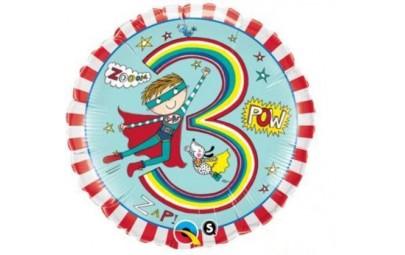 Balon foliowy 18 urodziny 3...
