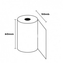 Rolka termiczna 60mm x 50mb