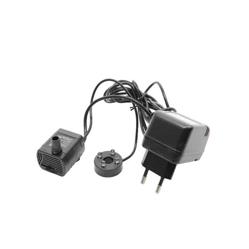Pompa zapasowa do fontanny czarna 19x10,5x8cm