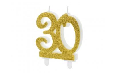 Świeczka urodzinowa cyfra...