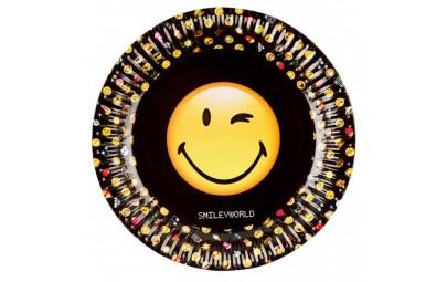 Talerz papierowy Smiley...