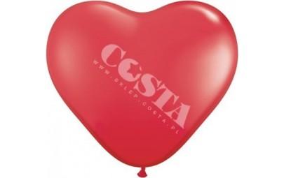 Balon 1M serce czerwone...