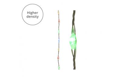 Lampki mico 567 led srebrny/multi wew/zew 900cm