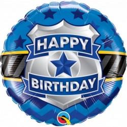 "Balon 18"" Birthday Badge..."