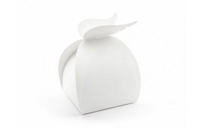 Pudełko -Skrzydła białe 8,5x14,5x8,5cm/10szt