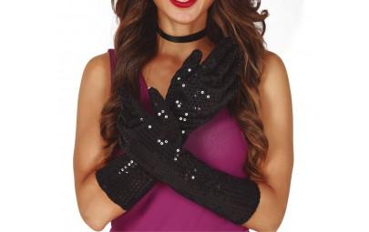 Rękawiczki czarne z...