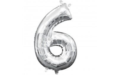 Balon foliowy 16 cyfra 6...
