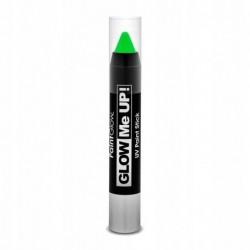 Kredka do makijażu UV neonowa zielona 3,5g