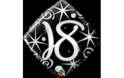 Balon foliowy 18 18 diamond...