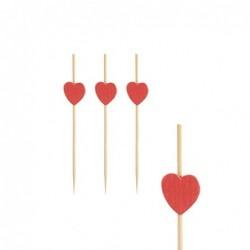 Patyczki bambusowe heart...