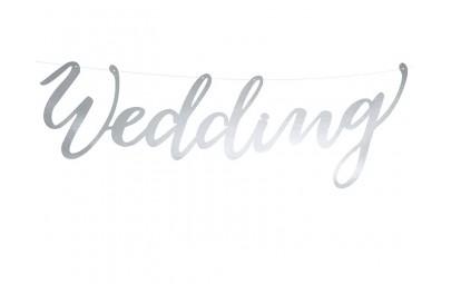 Baner Wedding srebrny...