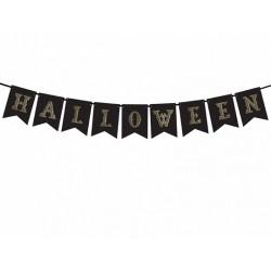 Baner Halloween czarny...