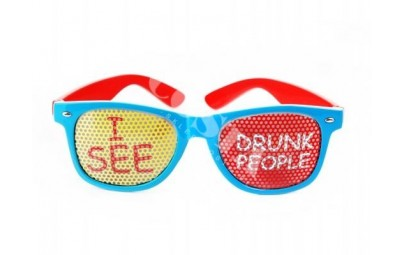 Okulary I see drunk people