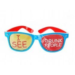 Okulary I see drunk people